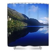 Church At The Waterfront, Kylemore Shower Curtain