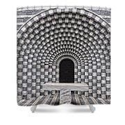Church Chapel Made In Stone Shower Curtain