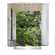 Church Entrance Shower Curtain