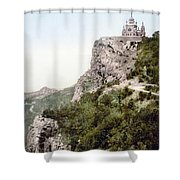 Church In Crimea - Ukraine - Russia Shower Curtain