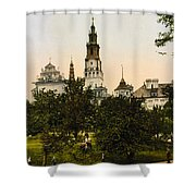 Church In Czestochowa - Poland - Ca 1900 Shower Curtain