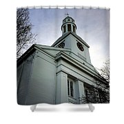 Church In Perspective Shower Curtain