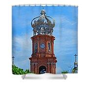 Church In Puerto Vallarta Shower Curtain