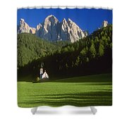 Church In The Countryside Shower Curtain