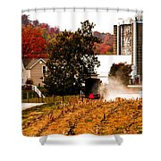 Church Is Over Heading Home Shower Curtain
