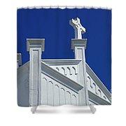 Church Key West Florida Shower Curtain
