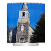 Church Of Days Gone By Shower Curtain