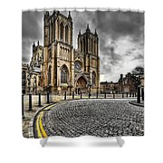 Church Of England Shower Curtain
