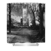 Church Of St Mary Magdalene Shower Curtain by Simon Marsden