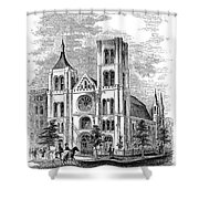 Church Of The Puritans Shower Curtain