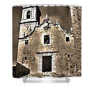 Church Of The Virgen De La Ermitana - Peniscola  Shower Curtain