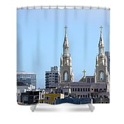Church Top San Francisco Shower Curtain