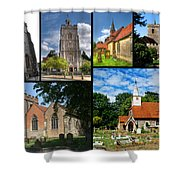 Churches Of Hillingdon Shower Curtain