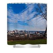 Cincinnati From Kentucky Shower Curtain