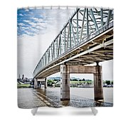 Cincinnati Taylor Southgate Bridge Shower Curtain