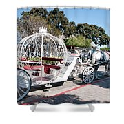 Cinderella Carriage Shower Curtain