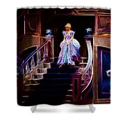 Cinderella Enters The Ball Shower Curtain