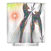 Cinderella's Wedding Night Shower Curtain