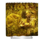 Cinematographer Mime Shower Curtain