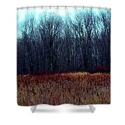 Cinnamon Fields Shower Curtain