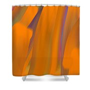 Cinnamon Forest Shower Curtain