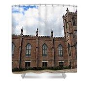 Circa 1818 Gothic 1st Presbyterian Church Huntsville Alabama Usa Shower Curtain