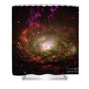Circinus Galaxy Shower Curtain