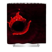 Circle Of Blood Shower Curtain