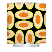 Circles Shower Curtain