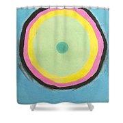 Circles Of Destiny Shower Curtain