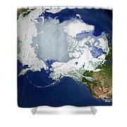 Circum-arctic Permafrost Shower Curtain