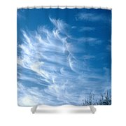 Cirrus Cloud Shower Curtain
