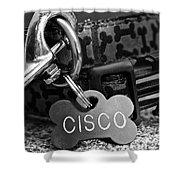 Cisco's Shower Curtain