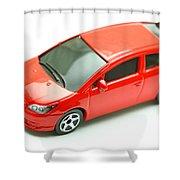 Citroen C4 Model Car Shower Curtain