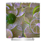 Citrons Verts - Green Lemon - Ile De La Reunion Shower Curtain