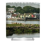City 0017 Shower Curtain