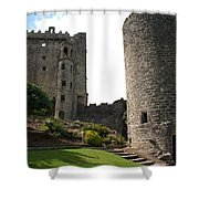 City 0023 Shower Curtain