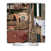 City 0036 Shower Curtain