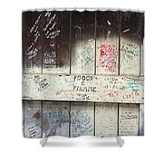 City 0039 Shower Curtain