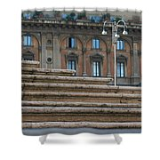 City 0048 Shower Curtain