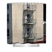 City 0052 Shower Curtain