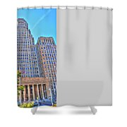 City Hall Shower Curtain