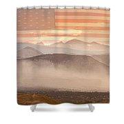 City Of Boulder Colorado Usa Wildfire Season Shower Curtain