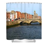City Of Dublin Shower Curtain