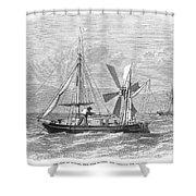 City Of Ragusa, 1870 Shower Curtain