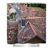 City Roofs Shower Curtain