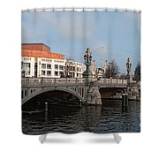 City Scenes From Amsterdam Shower Curtain
