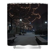 City Tranquility Shower Curtain