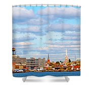 City View Four Shower Curtain