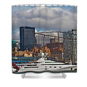 City View One Shower Curtain